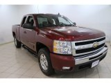 2009 Deep Ruby Red Metallic Chevrolet Silverado 1500 LT Extended Cab 4x4 #83499844