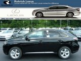 2013 Obsidian Black Lexus RX 350 AWD #83499377