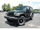2011 Natural Green Pearl Jeep Wrangler Sport 4x4 #83499830