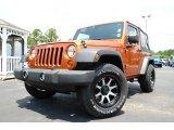 2011 Mango Tango Pearl Jeep Wrangler Sport 4x4 #83499829