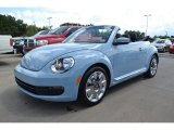 2013 Denim Blue Volkswagen Beetle 2.5L Convertible #83499613