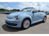 2013 Denim Blue Volkswagen Beetle 2.5L Convertible #83499605