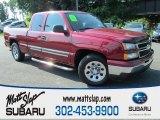 2006 Sport Red Metallic Chevrolet Silverado 1500 LT Extended Cab #83499602