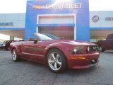 2007 Redfire Metallic Ford Mustang GT/CS California Special Convertible #83623896
