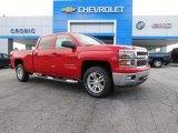 2014 Victory Red Chevrolet Silverado 1500 LT Crew Cab #83623893