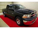 2010 Brilliant Black Crystal Pearl Dodge Ram 1500 ST Quad Cab #83623715