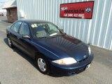 2002 Indigo Blue Metallic Chevrolet Cavalier Sedan #83624124