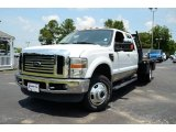 2010 Oxford White Ford F350 Super Duty Lariat Crew Cab 4x4 Dually #83623943
