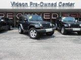 2010 Dark Charcoal Pearl Jeep Wrangler Sahara 4x4 #83624114