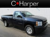 2011 Imperial Blue Metallic Chevrolet Silverado 1500 Regular Cab 4x4 #83624034