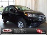 2013 Crystal Black Pearl Honda CR-V LX #83623534