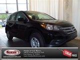 2013 Crystal Black Pearl Honda CR-V LX #83623532