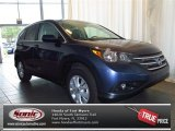 2013 Twilight Blue Metallic Honda CR-V EX #83623529