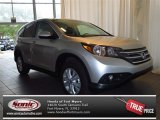 2013 Alabaster Silver Metallic Honda CR-V EX #83623527