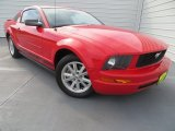2007 Torch Red Ford Mustang V6 Premium Coupe #83623827