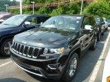 2014 Brilliant Black Crystal Pearl Jeep Grand Cherokee Limited 4x4 #83623925