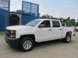 2014 Summit White Chevrolet Silverado 1500 WT Crew Cab 4x4 #83623658