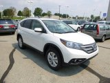 2013 White Diamond Pearl Honda CR-V EX-L AWD #83624008