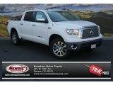 2013 Super White Toyota Tundra Platinum CrewMax 4x4 #83623498