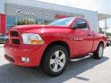 2012 Flame Red Dodge Ram 1500 Express Regular Cab #83623908
