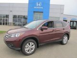 2013 Basque Red Pearl II Honda CR-V EX AWD #83623988