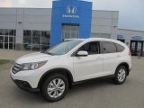 2013 White Diamond Pearl Honda CR-V EX-L AWD #83623986