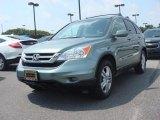 2010 Opal Sage Metallic Honda CR-V EX-L #83666231