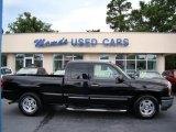 2005 Black Chevrolet Silverado 1500 LS Extended Cab #83666323