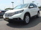 2012 White Diamond Pearl Honda CR-V EX-L #83666221