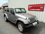 2013 Billet Silver Metallic Jeep Wrangler Unlimited Sahara 4x4 #83666492