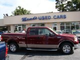 2006 Dark Toreador Red Metallic Ford F150 XLT SuperCab #83666318