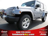 2013 Billet Silver Metallic Jeep Wrangler Unlimited Sahara 4x4 #83666238
