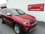 2014 Deep Cherry Red Crystal Pearl Jeep Grand Cherokee Limited 4x4 #83666480