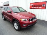 2014 Deep Cherry Red Crystal Pearl Jeep Grand Cherokee Laredo 4x4 #83666478