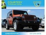 2011 Mango Tango Pearl Jeep Wrangler Sport 4x4 #83666351