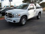 2008 Bright White Dodge Ram 1500 ST Regular Cab #83666209