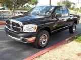 2008 Brilliant Black Crystal Pearl Dodge Ram 1500 ST Quad Cab 4x4 #83666207