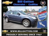 2013 Atlantis Blue Metallic Chevrolet Equinox LS #83692908