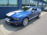 2009 Vista Blue Metallic Ford Mustang Shelby GT500 Coupe #83693014