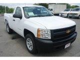 2013 Summit White Chevrolet Silverado 1500 Work Truck Regular Cab #83692856