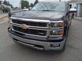 2014 Black Chevrolet Silverado 1500 LTZ Z71 Crew Cab 4x4 #83692643