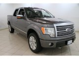 2010 Sterling Grey Metallic Ford F150 Lariat SuperCrew 4x4 #83692844