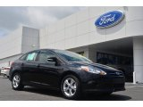 2013 Tuxedo Black Ford Focus SE Sedan #83692683