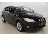 2012 Black Ford Focus SEL 5-Door #83692835
