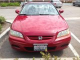 2002 Firepepper Red Pearl Honda Accord EX V6 Coupe #83692627