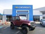 2010 Red Rock Crystal Pearl Jeep Wrangler Sahara 4x4 #83692719