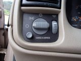 2005 Chevrolet Astro LS AWD Passenger Van Controls