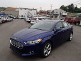 2013 Deep Impact Blue Metallic Ford Fusion SE #83692921