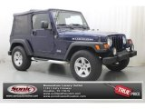 2006 Midnight Blue Pearl Jeep Wrangler Rubicon 4x4 #83692769