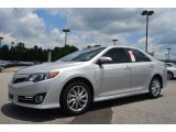 2013 Classic Silver Metallic Toyota Camry SE #83723987